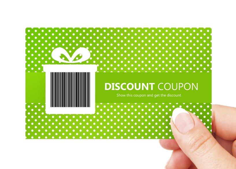 Nail salon loyalty reward coupon