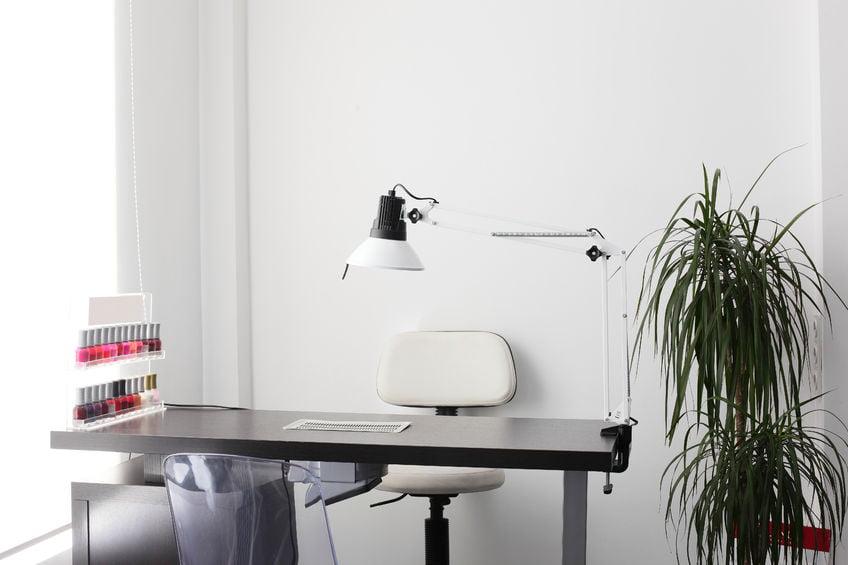 Interior Empty Modern Nail Salon Stock Photo Edit Now 757036627