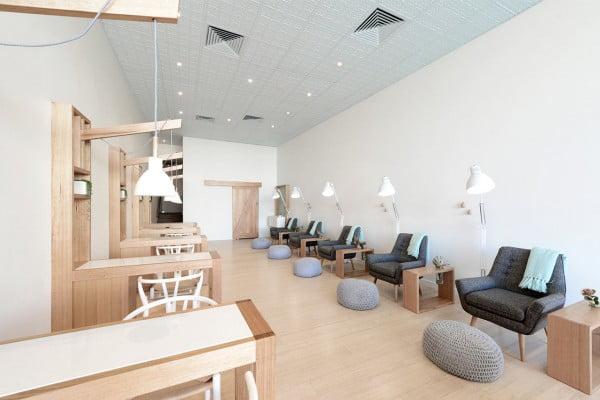 IKEA Inspired Nail Salon Design