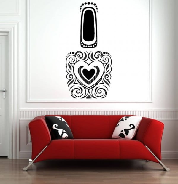 Nail Polish Wall Art
